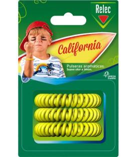 Pulsera Relec Antimosquitos California 3ud