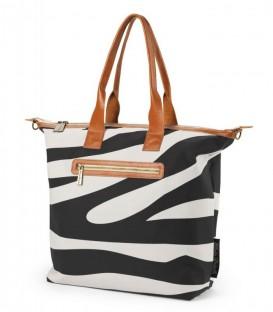 Bolso cambiador para bebé. Diseños Elodie Details zebra