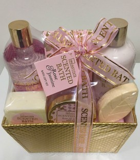 Cesta Scented Bath Rose & Jasmine