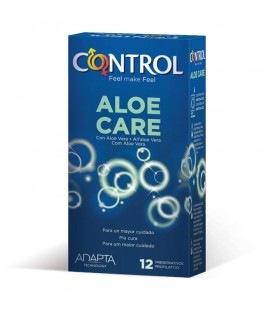 Control Aloe Care Preservativos 12 uds