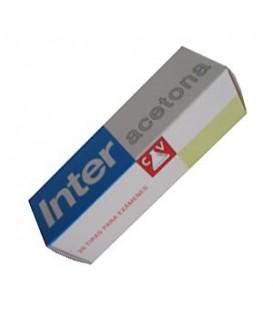 Inter Acetona20 Tiras Reactivas