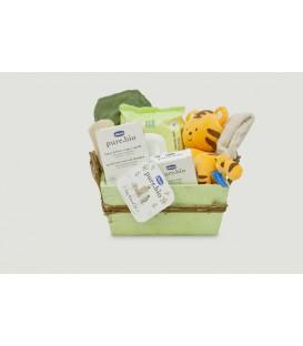 """Canastilla regalo bebé """"Ecológica Bio"""""""