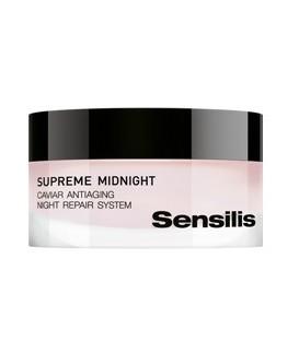 Crema Regeneradora de noche Sensilis Supreme Midnight con caviar