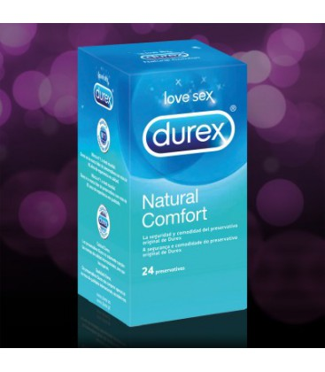 Preservativos Durex Natural Plus