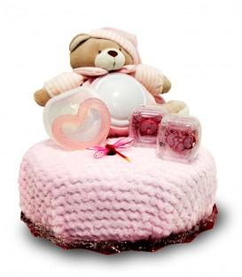 Sweet Cakes niña canastilla regalo para bebé