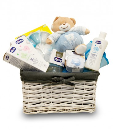 Blue Glue canastilla regalo para bebé