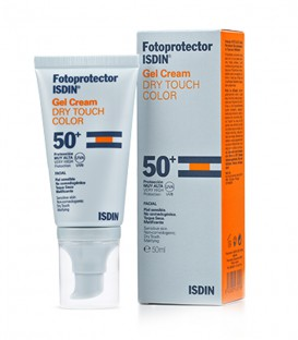 ISDIN Gel Cream Dry Touch Color SPF 50+