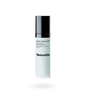 Sensilis Pure Perfection fluido hidratante matificante SPF 10