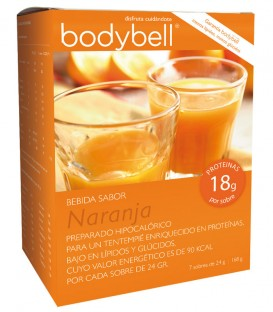 Bodybell Bebida de Naranja caja