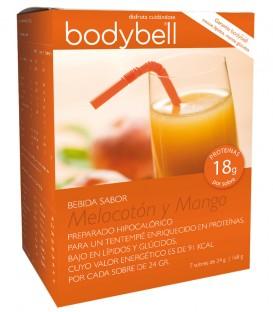 Bodybell Bebida Melocotón y Mango caja