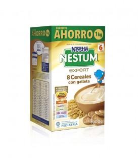 Nestle Papilla NESTUM 8 Cereales con Galleta 1kg