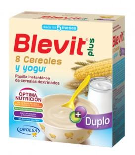 Blevit plus Duplo Papilla 8 Cereales y yogur