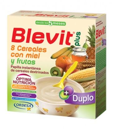Blevit plus Duplo Papilla 8 Cereales con miel y frutas
