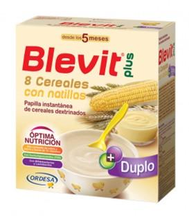 Blevit plus Duplo Papilla 8 Cereales con natillas 600g