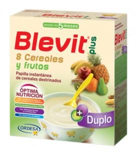 Papilla Blevit plus Duplo 8 Cereales y frutas