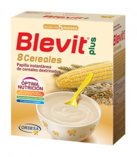 Blevit Plus Papilla 8 Cereales Superfibra