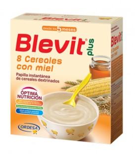 Blevit Plus Papilla 8 Cereales con Miel con Efecto Bífidus