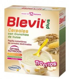 Blevit Plus Trocitos Papilla Cereales con Crunchies de frutas