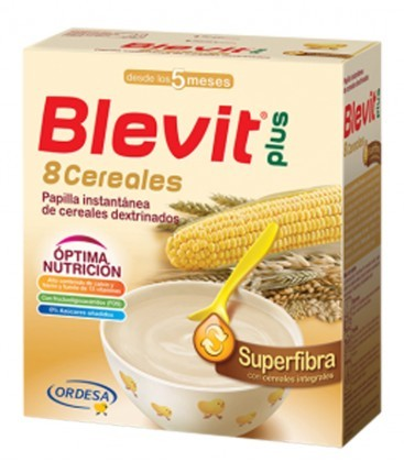 Blevit Plus Superfibra Papilla 8 Cereales