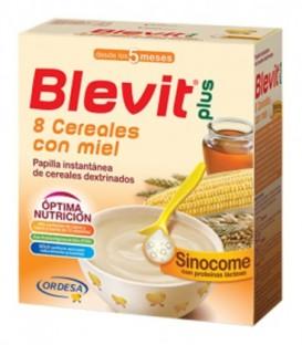 Blevit Plus Sinocome Papilla 8 Cereales con Miel