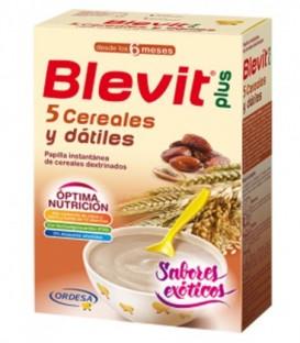 Blevit Plus Exóticos Papilla 5 Cereales y Dátiles