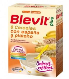Blevit Plus Exóticos Papilla 8 Cereales con Espelta y Plátano