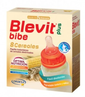 Blevit Plus Bibe Papilla 8 Cereales para Biberón