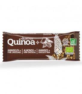 Nature Crops barrita chocolate negro y almendras 40gr