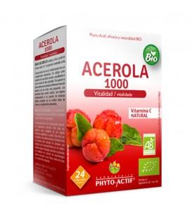 Phyto Actif Acerola 1000. 24 comprimidos masticables de 2,5g