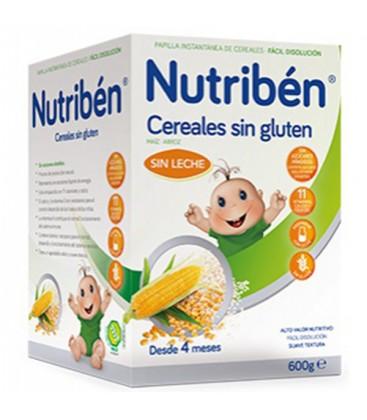 Nutribén Papilla Cereales Sin Gluten