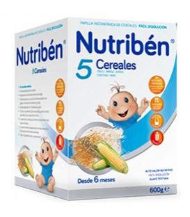 Nutribén Papilla 5 Cereales