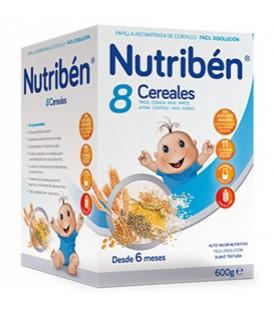 Nutribén Papilla 8 Cereales