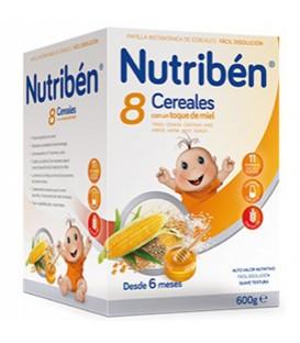 Nutribén Papilla 8 Cereales y Miel