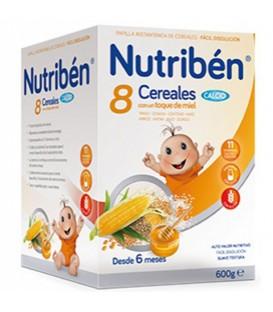 Nutribén Papilla 8 Cereales Miel y Calcio