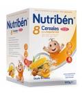 Nutribén Papilla 8 Cereales Miel y Frutos Secos