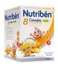 Nutribén Papilla 8 Cereales Miel y 4 Frutas