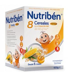 Nutribén Papilla 8 Cereales Miel y Muesli