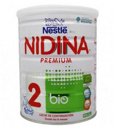 Nidina BIO 2 Nestlé Leche Infantil 800g