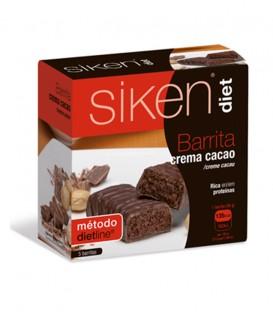 Barrita de crema de cacao Siken Diet (5 barritas)