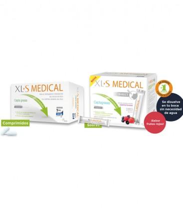 XLS Medical Captagrasas 180 comprimidos o sobres