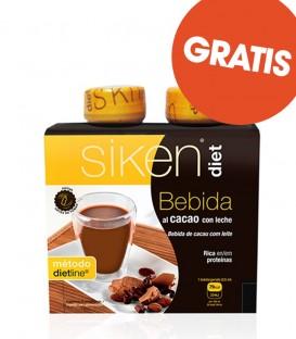 (REGALO 1+1) Bebida Cacao Siken (2 uds)