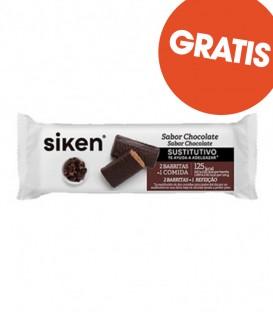 (REGALO 1+1) Caja Barritas Sustitutivas Siken Chocolate (8uds)