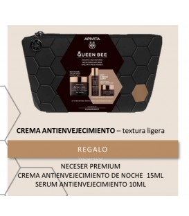 Apivita Queen Bee Cream Crema Rica 50ml + Neceser 10 días de tratamiento