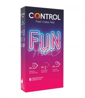 Control Fun Mix Preservativos 6 uds