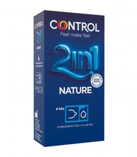 Preservativos Control 2 en 1 Nature