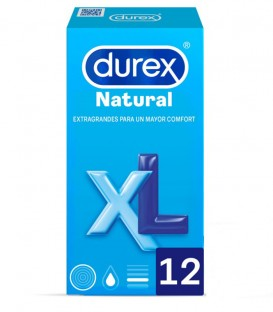 Preservativos Durex Natural XL
