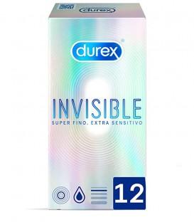Durex Preservativos Invisible Extra Sensitivo 12 uds
