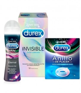 Kit Durex Invisible Eternal