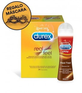 Kit Durex Real Feel