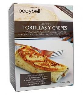 Bodybell Surtido de Tortillas y Crepes caja